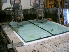 waterjet glass austin